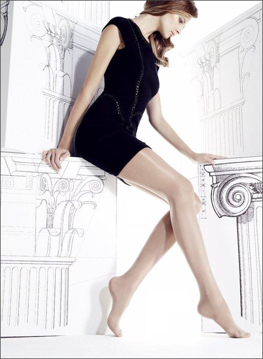 °☆就要襪☆°全新義大利品牌 OMERO LUXOR 高光澤絲光閃亮透明絲襪(40DEN)