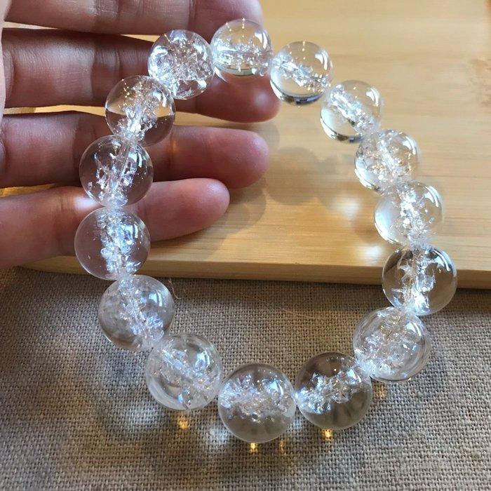 白水晶手鍊14mm