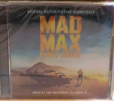 正版CD電影原聲帶《瘋狂麥斯 憤怒道》/Junkie XL Mad Max: Fury Road