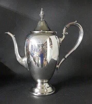 426高檔英國鍍銀壺 Vintage Silverplate Ornate teapot(29公分高)