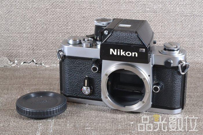 【品光數位】Nikon F2 單機身 135底片 底片機 銀色 #77710