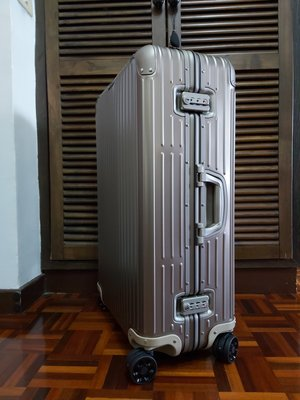 現貨  RIMOWA ORIGINAL Check-In L 新款  託運行李箱 金色含紙箱