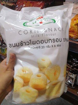 泰國7-11 零食 奶油玉米波 20g x 6包