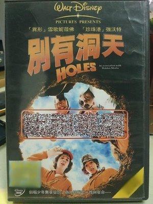 影音大批發-P00-310-二手DVD-電影【別有洞天/Holes】-絕命追殺令導演*銀河追緝令-雪歌妮薇佛(直購價)
