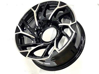 三重近國道~佳林輪胎~ Leader H519 JIMNY JB74 15吋 7J ET0 吉米 鋁圈 搭配輪胎另有優惠