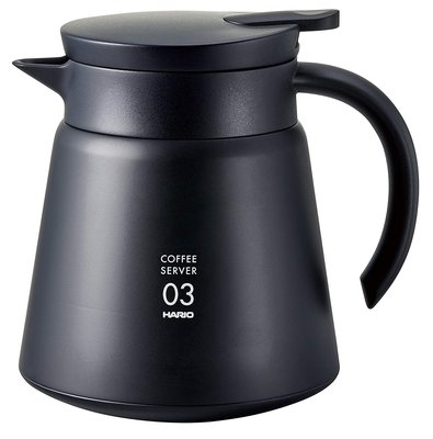 HARIO日本VHS-80b V60不鏽鋼真空雙層斷熱咖啡壺750ML/咖啡保溫壺/不鏽鋼保溫壺/露營野餐-限期優惠