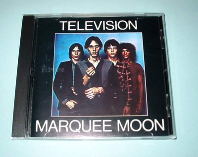 Television Marquee Moon早期美版CD唱片No Ifpi