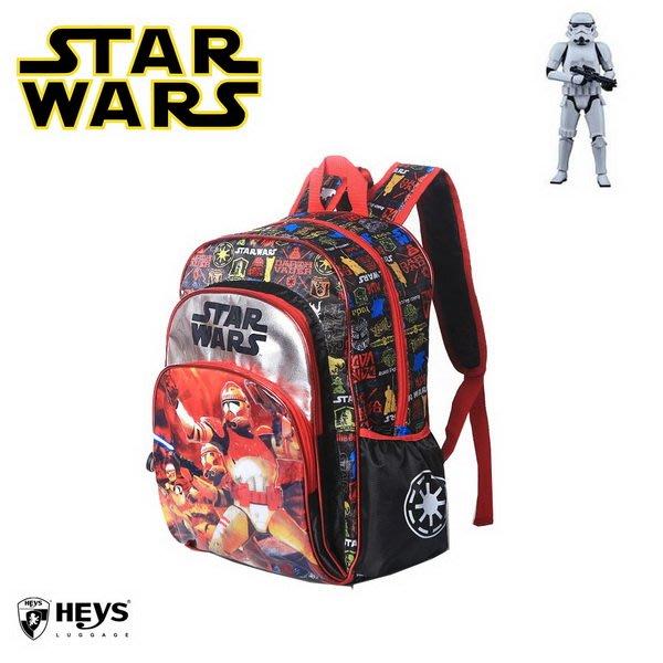 出口美國Heys品牌黑色Star Wars 星際大戰款雙肩大書包(國小專用)新款上市~