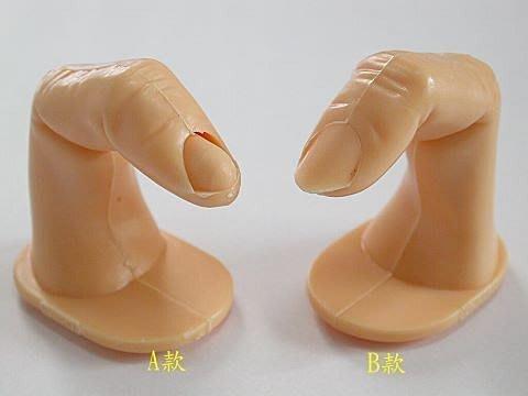 超麻吉ㄟ~好用喔!《手指模型》~有A、B兩款喔~大降價!練習美甲必備用品