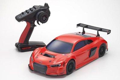 KYOSHO 33210 1/10 GP FW-06 Audi R8 LMS 2015 Red 引擎房車