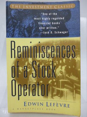 【月界】Reminiscences of a Stock Operator(絕版)_股票作手回憶錄英文版 〖股票〗COU