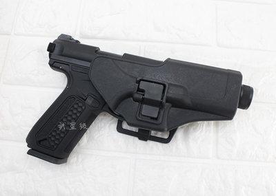 台南 武星級 Action Army AAP-01 瓦斯槍 黑 + 槍套 ( GBB槍BB槍BB彈玩具槍模型槍手槍短槍