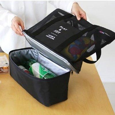 韓國雙層保溫保冷包置物手提袋(二合一)-艾發現
