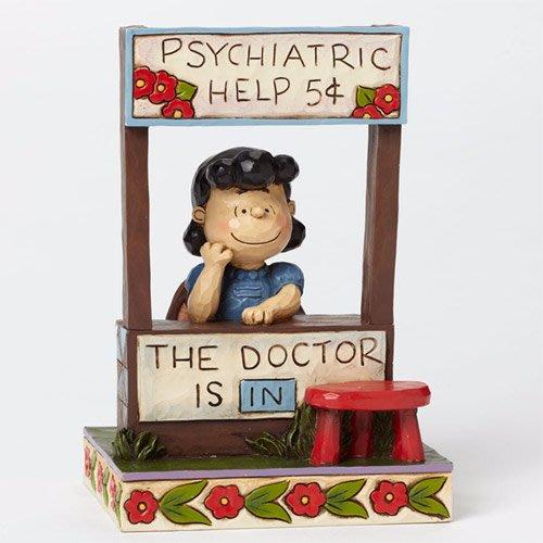 🗽Dona美國代購🗽預購 Enesco 史努比露西醫生 塑像 公仔擺飾裝飾