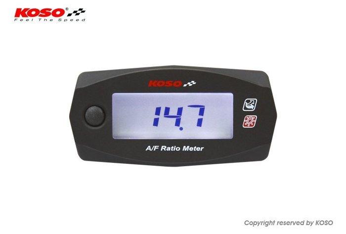 【杰仔小舖】KOSO微型MINI4/MINI 4空燃比碼表,適用:重車/重機/渦輪改裝/TURBO/五期噴射限量特價中!
