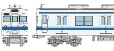 [玩具共和國] 4543736314462 東武鉄道8000系 81114編成6両