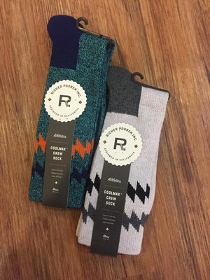 ☆AirRoom☆ 【現貨】 2015 A/W Richer Poorer SPRINTER 襪子 藍 灰 菱型紋