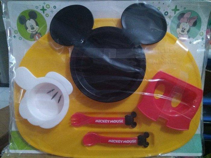 盧媽媽小舖 迪士尼 米奇兒童餐具 DISNEY 學習餐具 日本製 彌月禮物 聖誕禮物