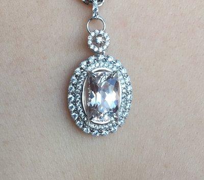 珍奇翡翠珠寶首飾-天然無燒孔賽石5克拉...