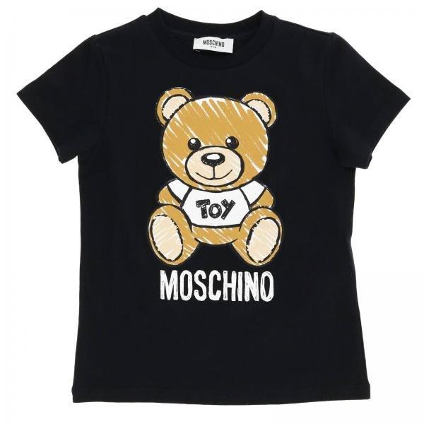 現貨**全新 MOSCHINO  黑色 小熊 toy 短袖 T恤 10Y 適合大人XS