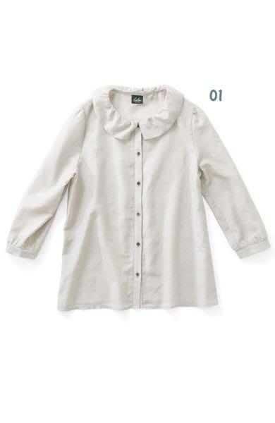 Sloe 春裝 纖細感絲綢花邊領襯衫 (現貨款特價)