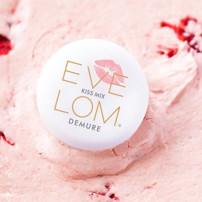 【Q寶媽】EVE LOM Kiss 修護唇霜7ml Demure蜜甜粉 - Lippy暖珊瑚 - Cheeky酒桃紅