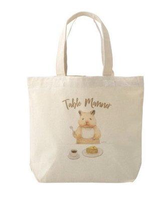 ::BonChu::助六的日常 小托特帆布包 日本限定 帆布包 倉鼠