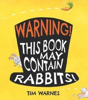 注意!書里會有很多兔子!英文 Warning! This Book May Contain Rabbits! 互動游戲書
