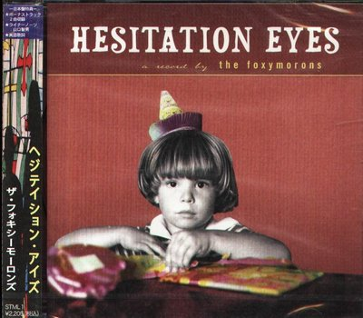 K - The Foxymorons - Hesitation Eyes - 日版 +2BONUS - NEW