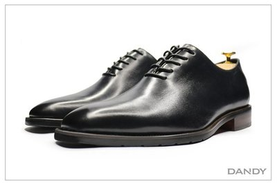 ├ DANDY ┤真皮方頭燻黑紳士皮鞋 ‧ 2020新款冬季正裝男鞋 黑藍色-886-K01