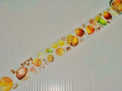 紙膠帶 台灣原創 Ours聯名設計 鄧小熊的隨手筆記 橡實 分裝100cm