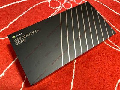 電腦配件顯卡NVIDIA/英偉達 RTX 3090 原廠牌 Ampere 安培 FE 公版 顯卡