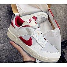 """全新正品 Nike Dunk Low Disrupt """"Gym Red"""" 白紅 休閒鞋 CK6654-101 現貨"""
