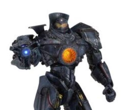 """Neca 18"""" Action Figure Pacific Rim Gipsy Danger with Light Up Plasma  Cannon Arm"""