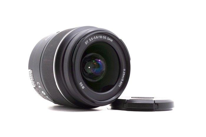 【台中青蘋果】Sony DT 18-55mm f3.5-5.6 SAM 二手 A-Mount 鏡頭 #27128