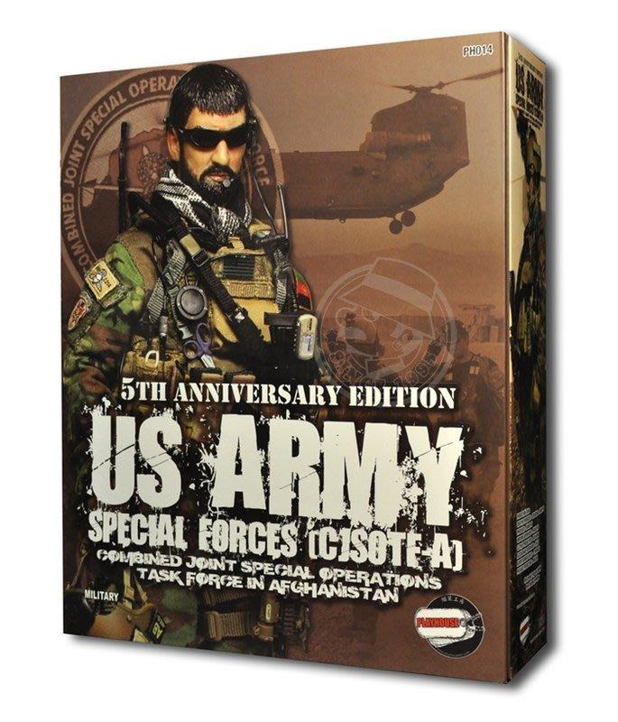 金錢貓雜貨~全新  PLAYHOUSE PH014 5周年 US ARMY SPECIAL FORCES