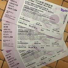 特價出售GOT7 香港演唱會 2018 現票 $2380Vip企位門 8月24日