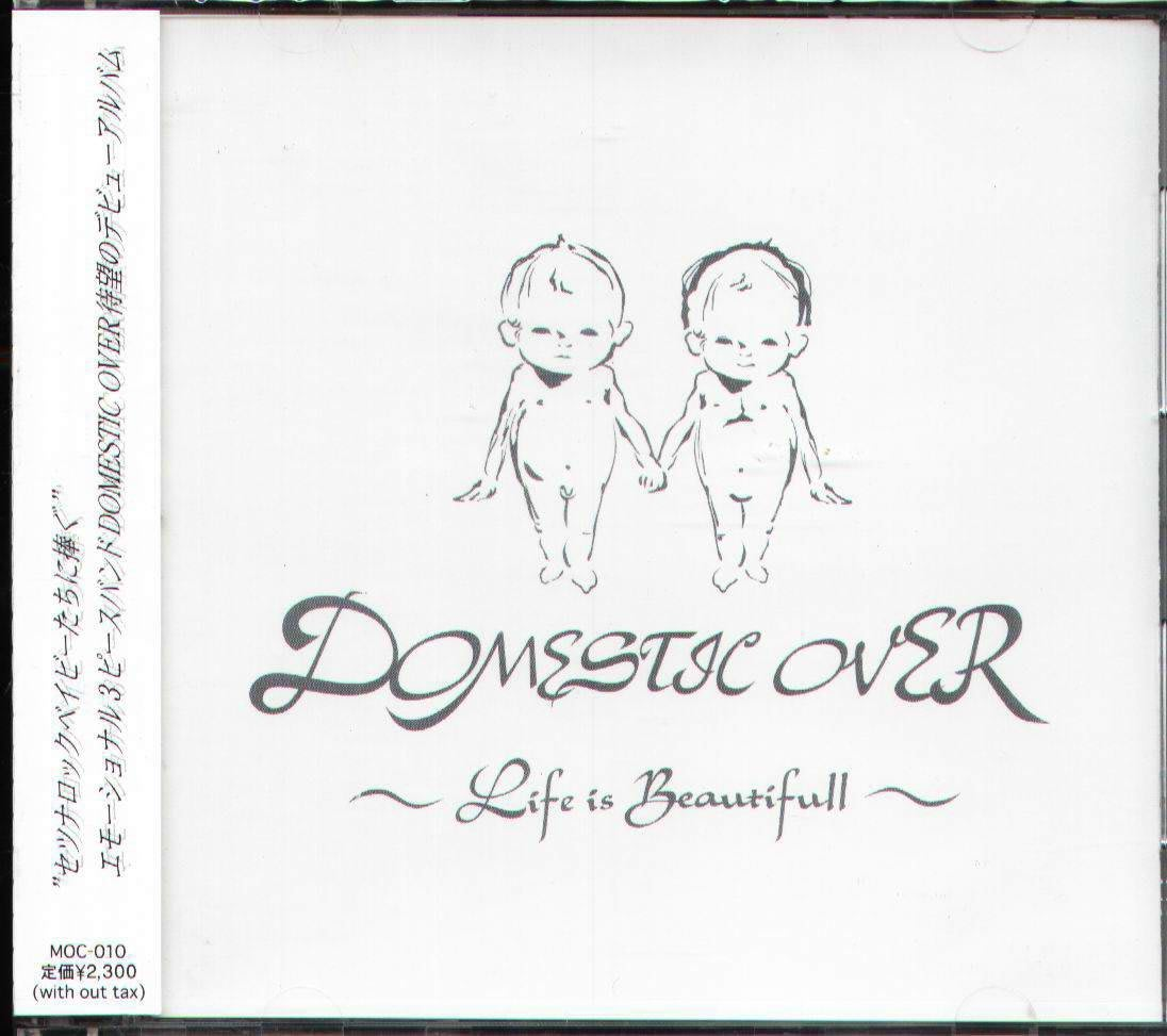 K - DOMESTIC OVER - Life is Beautiful - 日版 NEW