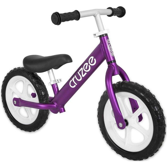 (CRUZEE) 超輕量鋁合金平衡滑步車 Push Bike 紫色 (共九色)