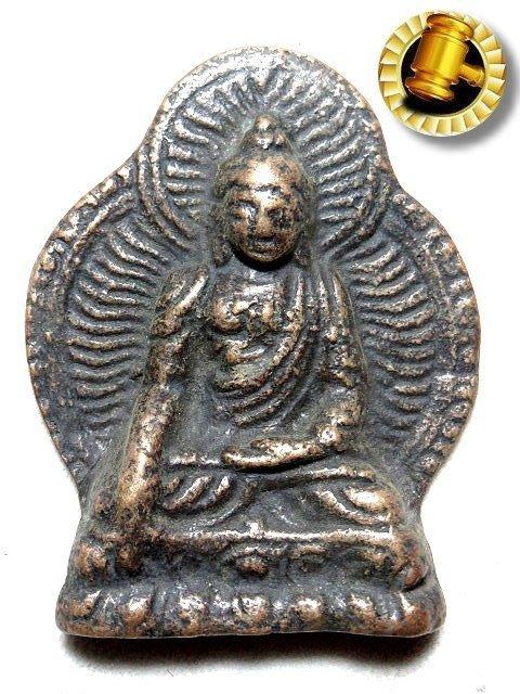 【 金王記拍寶網 】T1471  中國西藏藏密佛像  銅雕佛牌 一個 罕見稀少~