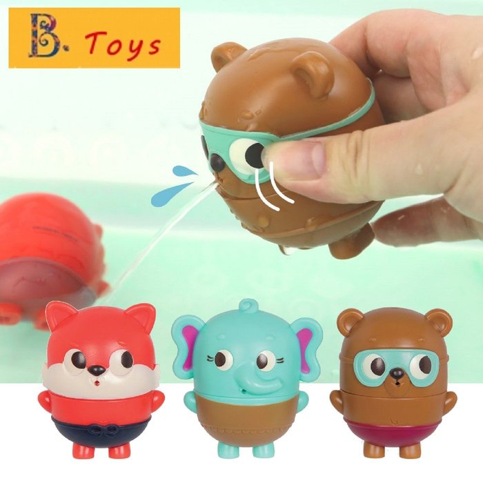 B.Toys 水球膠囊 - 森林小組 洗澡/ 戲水玩具 §小豆芽§ B.Toys Land Of B系列 森林小組