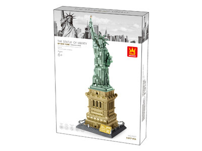 ㊣萬格積木直營《24hr出貨》買樂知識【型號 5227 紐約自由女神像(全新包裝超取需拆盒)】商檢合格。外銷歐美款現貨