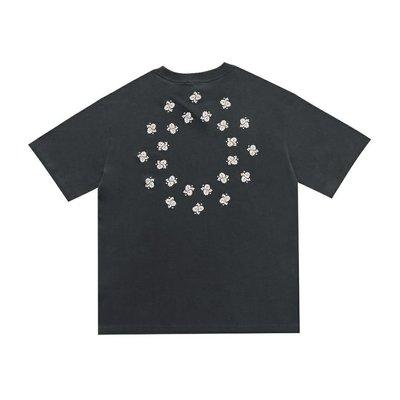 Askyurself Paisley Confusion Tee 混亂佩斯利花卉發泡印花 高街做舊水洗短袖T恤