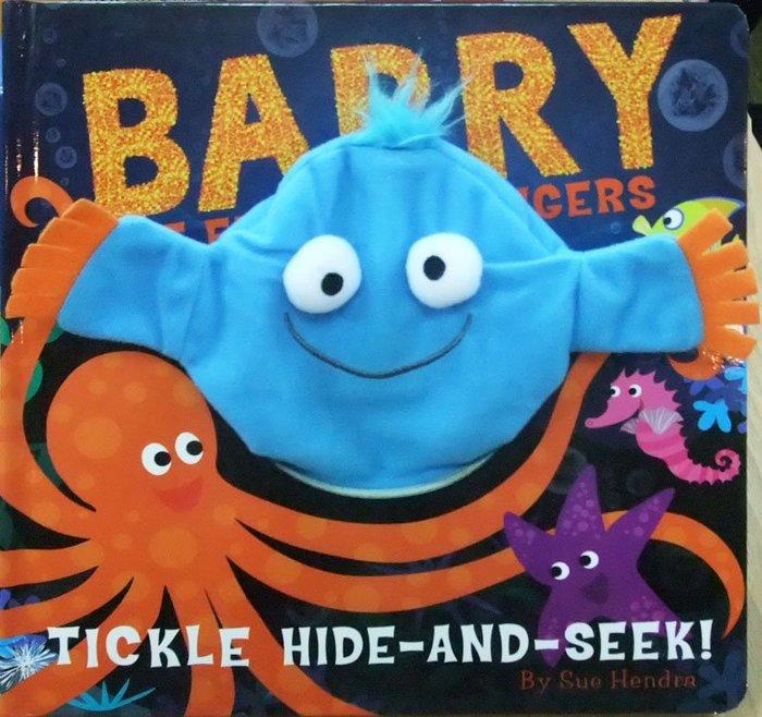 *小貝比的家*BARRY THE FISH WITH FINGERS /硬頁/3~6歲/手偶書
