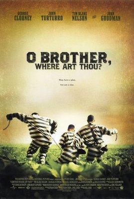 霹靂高手-O Brother, Where Art Thou? (2000)原版電影海報