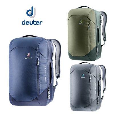 丹大戶外【Deuter】德國 AVIANT CARRY ON隨行商旅兩用包28L 3510020 藍/橄欖綠/黑