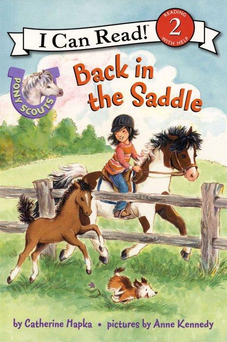 *小貝比的家*ICR:PONY SCOUTS BACK IN THE SADDLE /L2/平裝書+CD/3~6歲