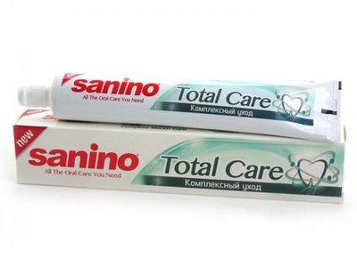 土耳其 Sanino 全效口腔呵護牙膏 Total Care Toothpaste 128g 新品優惠