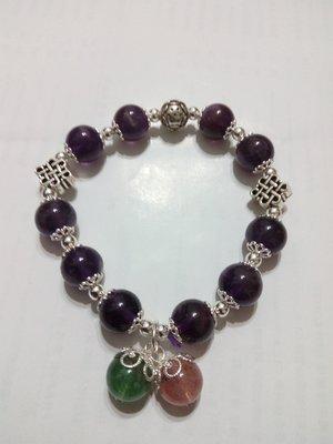 【九龍藝品】設計款水晶手珠 ~ 彈性線,珠子約10mm (10)