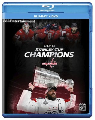 2018 Stanley Cup Champion 冰上曲棍球 Blu-ray+DVD 2018 (包郵)